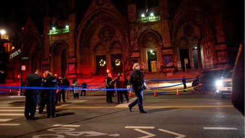 Die Morgenlage: Mann schießt vor New Yorker Kathedrale um sich – Polizei tötet ihn