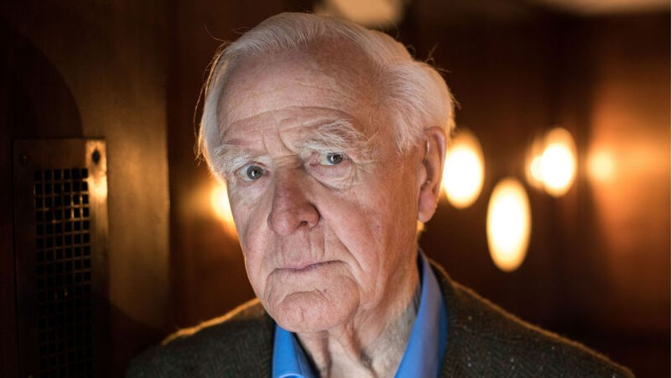 John le Carre, britischer Schriftsteller und Spionageexperteist tot.
