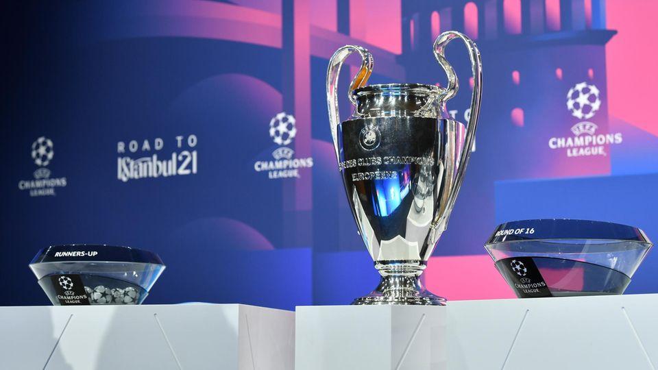 Die Auslosung der Achtelfinalpartien in der Champions League fand in Nyon statt
