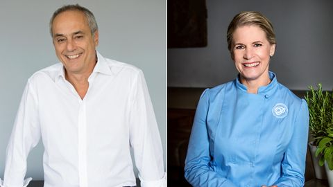 Christian Rach und Cornelia Poletto