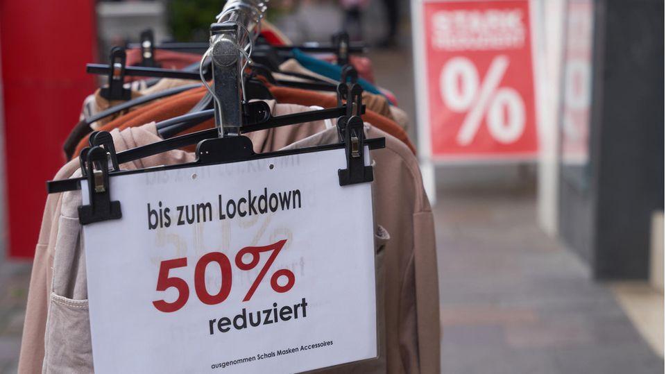 Lockdown.Schlussverkauf-Angebote in Koblenz