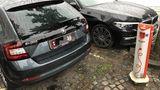 Ärgernis: eine zugeparkte Ladesäule