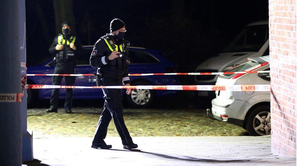 Polizist in Hamburg