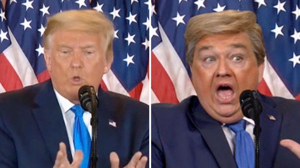Oliver Kalkofe imitiert Donald Trump