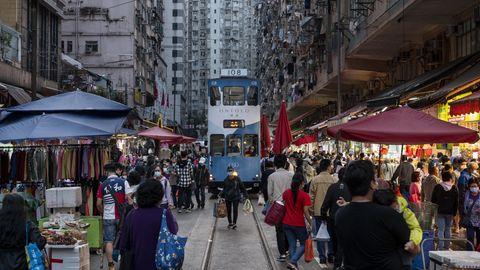 Alltag in Hong Kong