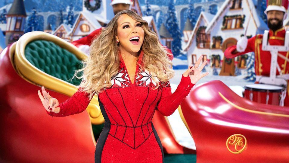 Mariah Carey an der Spitze der US-Charts.