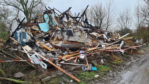 Das Ferienhaus von Oliver Geissen ist nach einem Brand komplett zerstört
