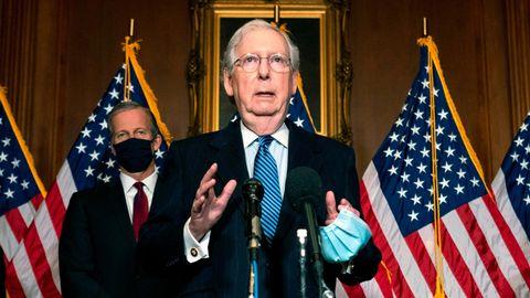 Mitch McConnell,US-Senatsmehrheitsführer der Republikaner