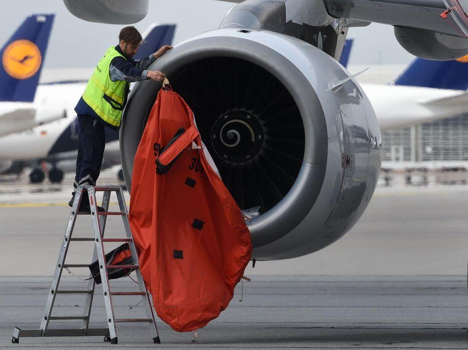 Können 2021 wieder mehr geparkte Flugzeuge eingesetzt werden?