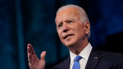 Joe Biden am Rednerpult