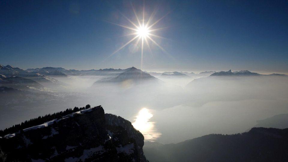 Berge und Wasser: Das Berner Oberland hat einiges zu bieten