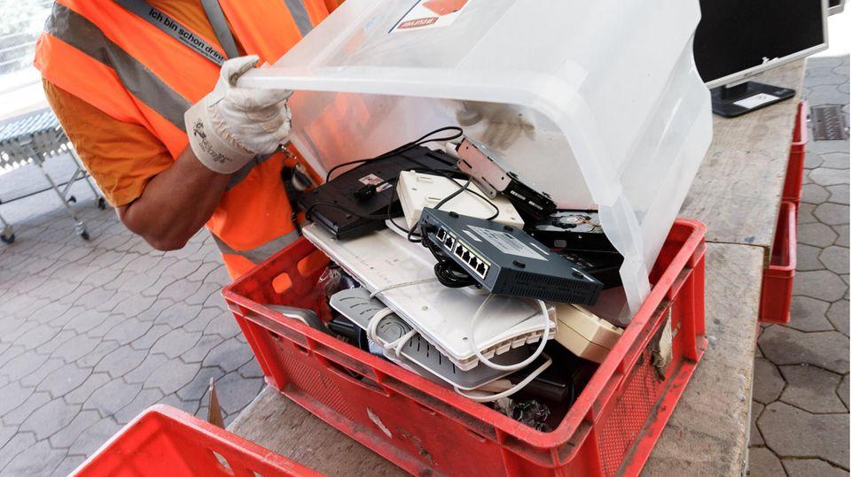 Discounterund Supermärkte sollen Elektroschrott annehmen