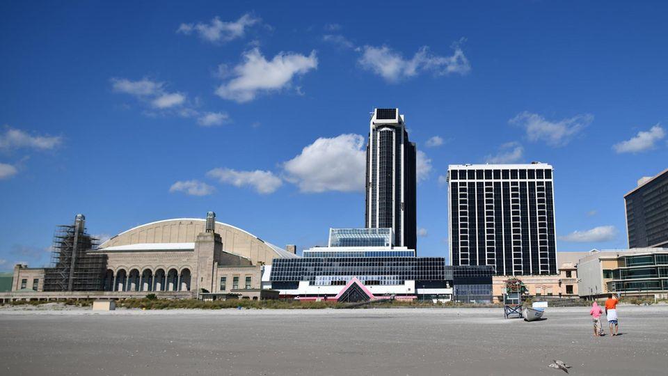 Trump Plaza Hotel und Casino, einst eines der wichtigsten Reiseziele in der Glücksspielstadt Atlantic City,wird abgerissen