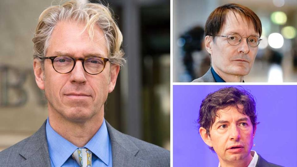 Coronavirus: Andreas Gassen, Karl Lauterbach, Christian Drosten