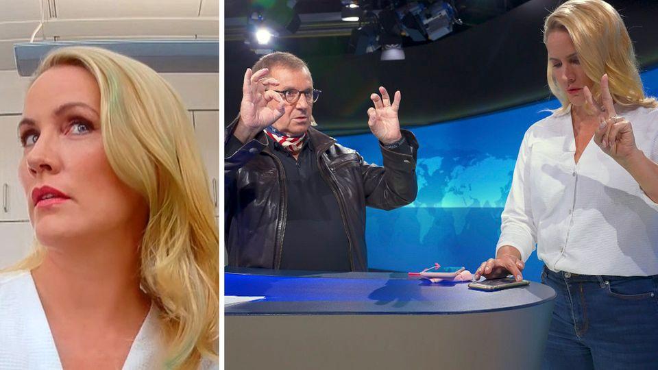 """""""VERSTEHEN SIE SPASS?"""" Judith Rakers wird von Jan Hofer reingelegt"""