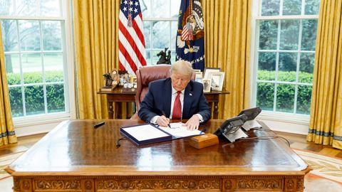 Trump geht, Biden kommt: Nur sechs Stunden Zeit: So läuft der Umzug im Weißen Haus ab – wenn Trump denn geht
