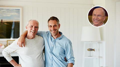 Auch wenn man eine gute Vater-Sohn-Beziehung hat, manchmal kracht es dann doch