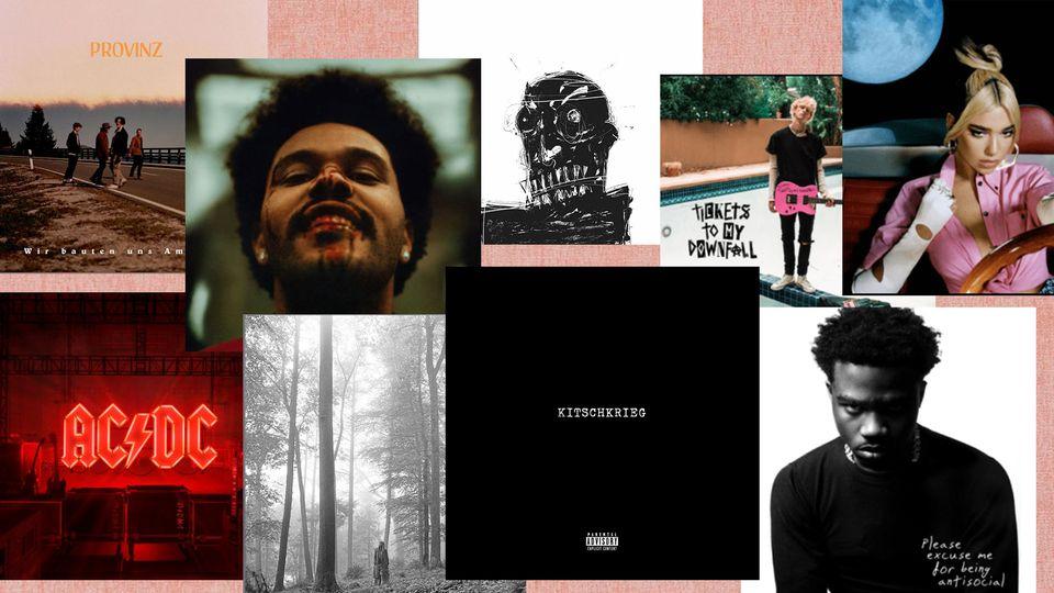 Musikalischer Jahresrückblick: 20 Alben, die man 2020 unbedingt gehört haben sollte