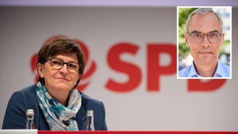 Saskia Esken, SPD-Chefin, weiß vom Leben normaler Menschen nichts, meint unser Gastautor Frank Schmiechen