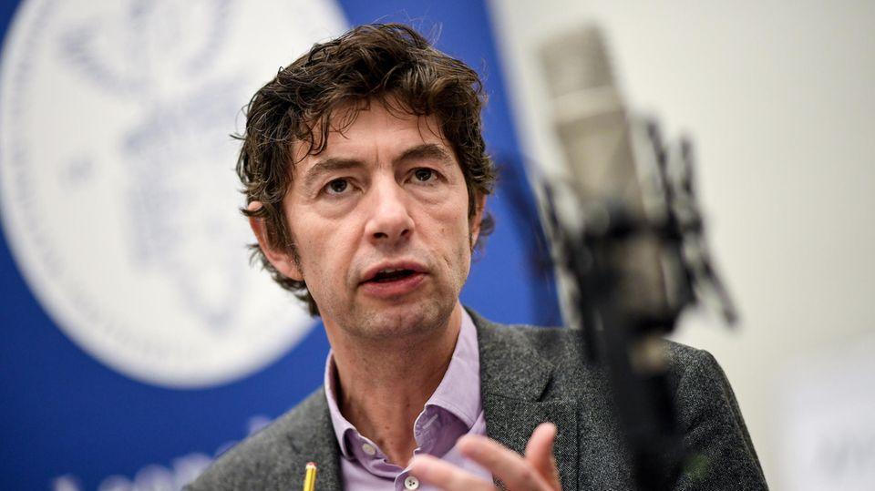 Christian Drosten, Direktor des Instituts für Virologie an der Berliner Charite