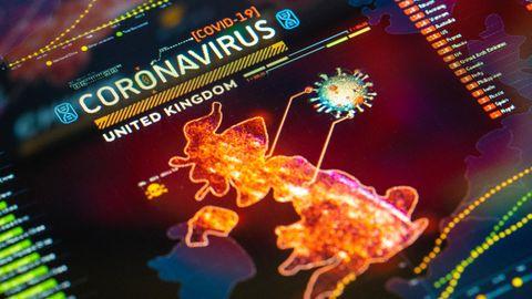 Eine neue Coronavirus-Variante hält Großbritannien in Schach