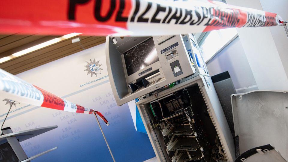 Über 400 Sprengungen von Geldautomaten im Jahr 2020.