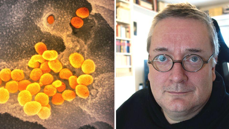 stern-Journalist Christoph Koch im Interview zur Coronavirus-Mutation