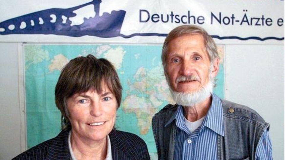 Christel und Rupert Neudeck