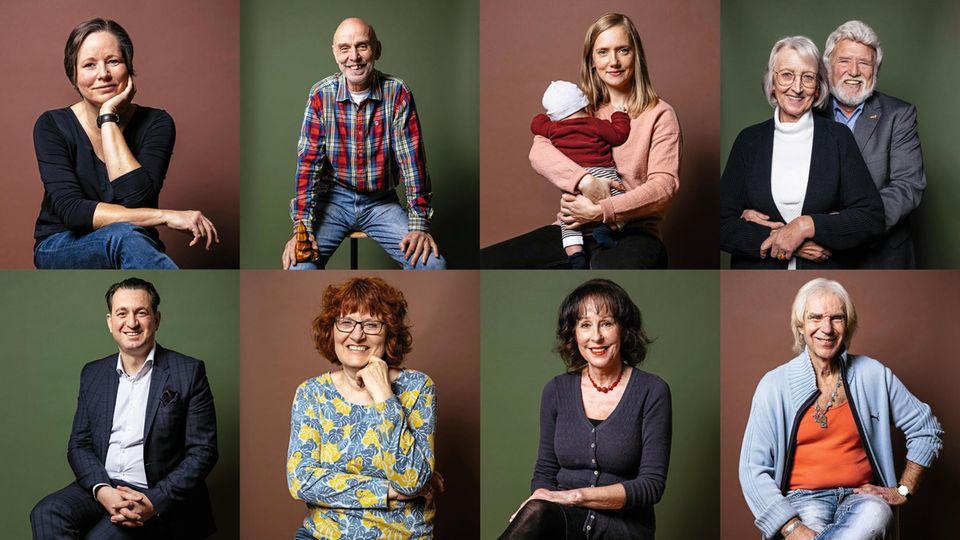 Portraits der Spender