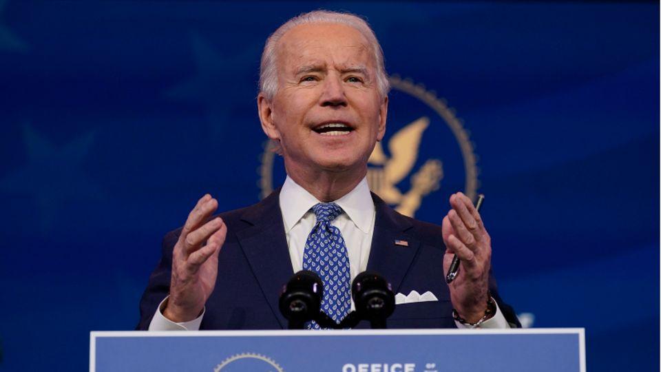 """Joe Biden: """"Wir werden Geduld brauchen, Durchhaltevermögen und Entschlossenheit, um das Virus zu besiegen."""""""