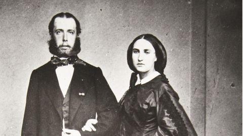 Maximilian und Charlotte von Mexiko