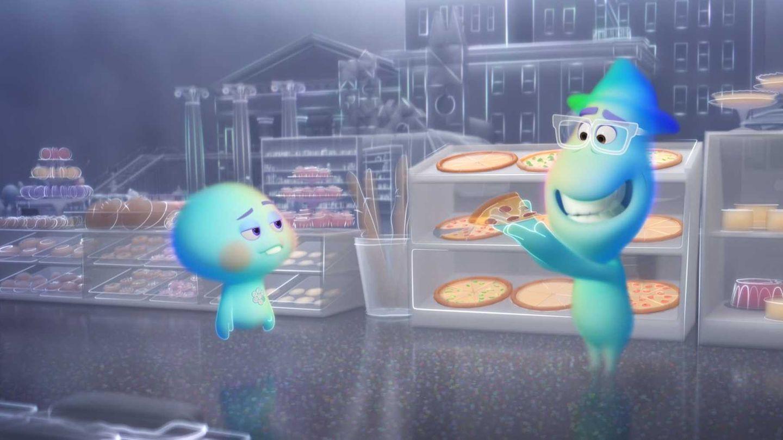 "Szene aus dem neuen Pixar-Animationsfilm ""Soul"""