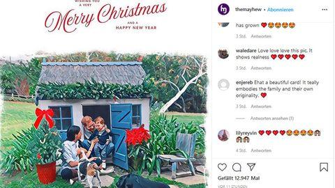 Die diesjährige Weihnachtskarte von Harry und Meghan ist eine Illustration