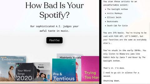 Dieses Tool bewertet, wie schlimm es um euren Musikgeschmack steht