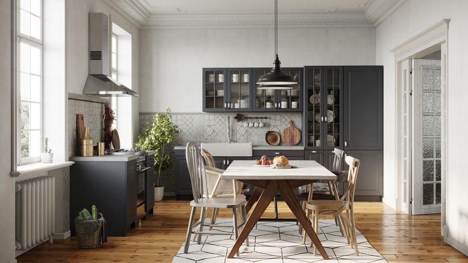 Die Küche ist häufig der Lebensmittelpunkt in vielen Wohnungen.