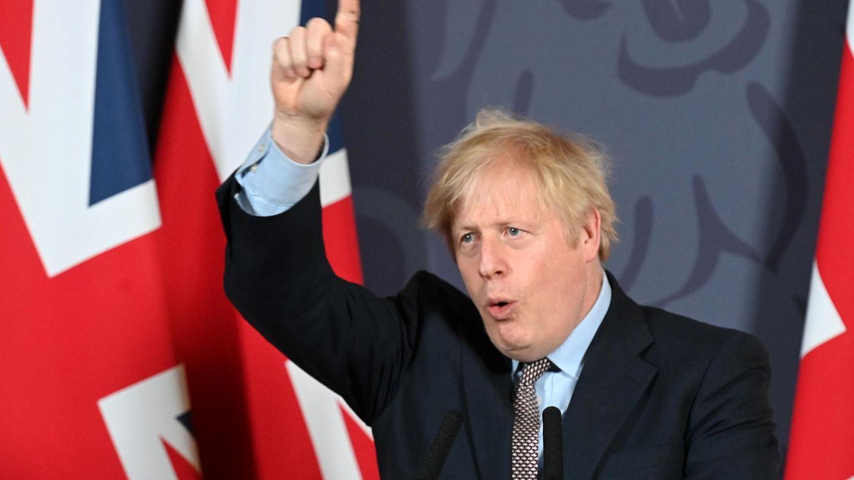 Ist natürlich begeistert vom Brexit-Handelspakt: Der britische Premier Boris Johnson