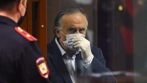 Der russische Historiker Oleg S. auf der Anklagebank