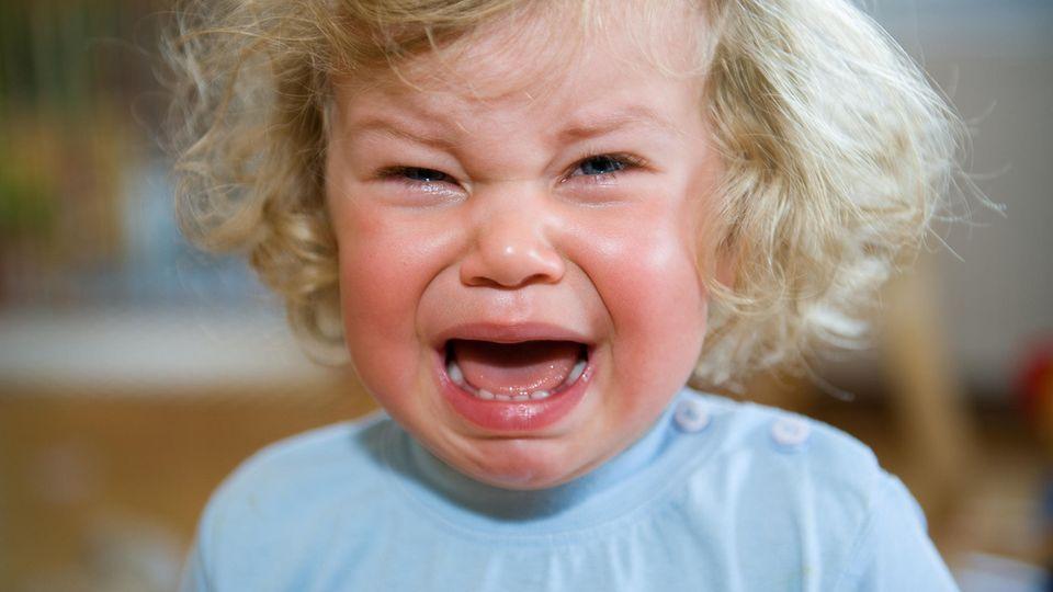 Eskalation in drei, zwei, eins: Die Stimmung bei Kleinkindern kann schnell umschlagen.