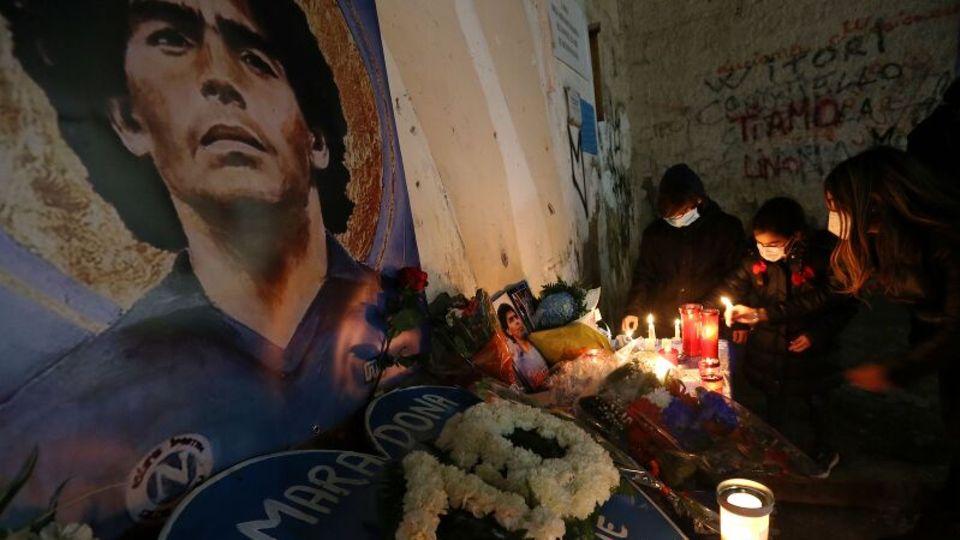 Fußballlegende Diego Maradona starb am 25. November. Drei Tage herrschte in seinem Heimatland Argentinien Staatstrauer.