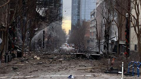 Nashville: Heftige Explosion – FBI ermittelt in Tennessees Hauptstadt
