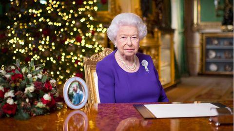 Die Queen bei ihrer Weihnachtsansprache 2020
