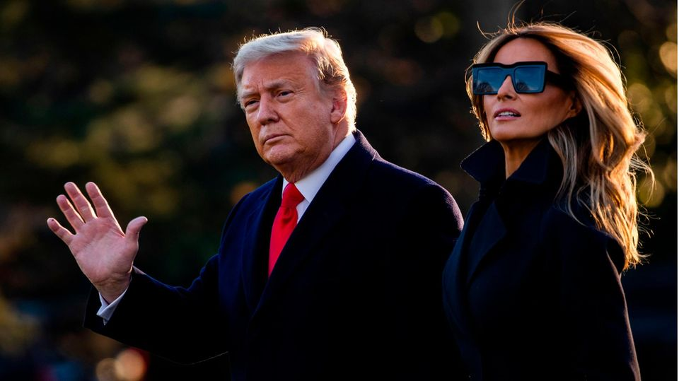 Donald Trump und Ehefrau Melania