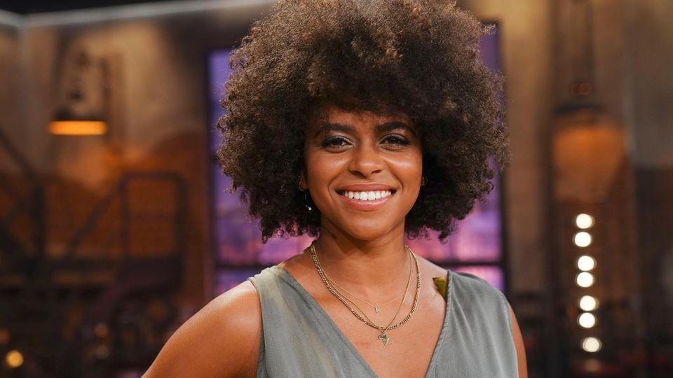 """Aminata Belli moderiert seit 2020 zusammen mit MoTrip die NDR-Talkshow """"deep und deutlich"""""""