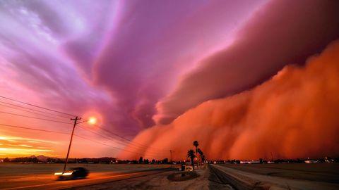 Sandsturm in Aroziona