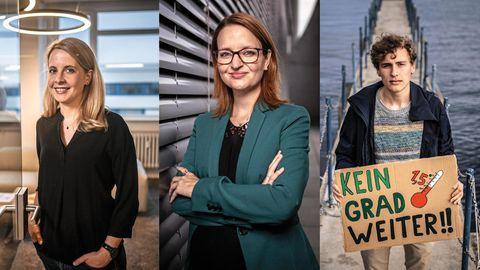 Verena Hubertz, Ronja Kemmer, Jakob Blasel