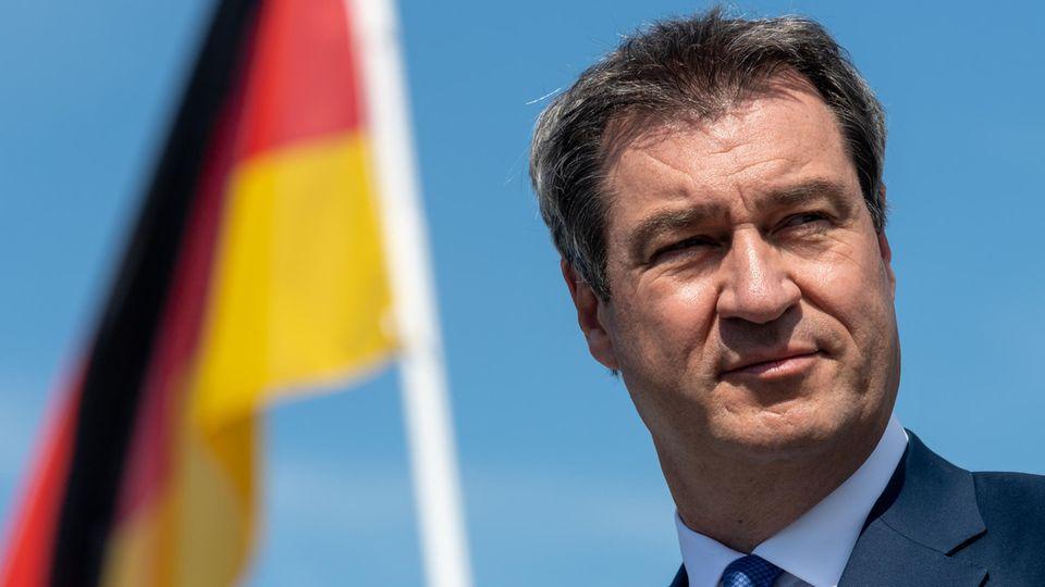 Markus Söder, CSU-Chef undMinisterpräsident von Bayern