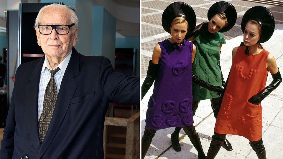 Pierre Cardin ist mit 98 Jahren gestorben