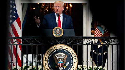Trump Balkon