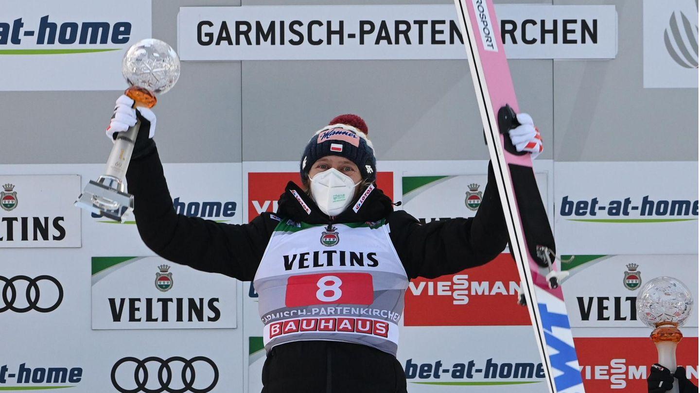 Geiger wird beim Neujahrsspringen Fünfter - Kubacki siegt in Garmisch