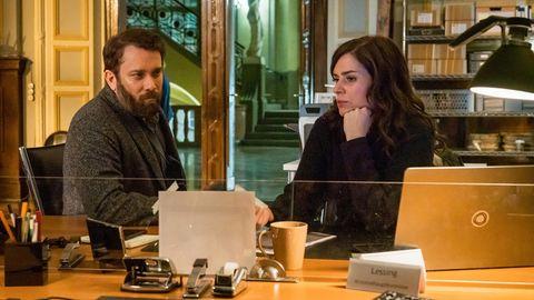 """Christian Ulmen und Nora Tschirner im """"Tatort"""""""